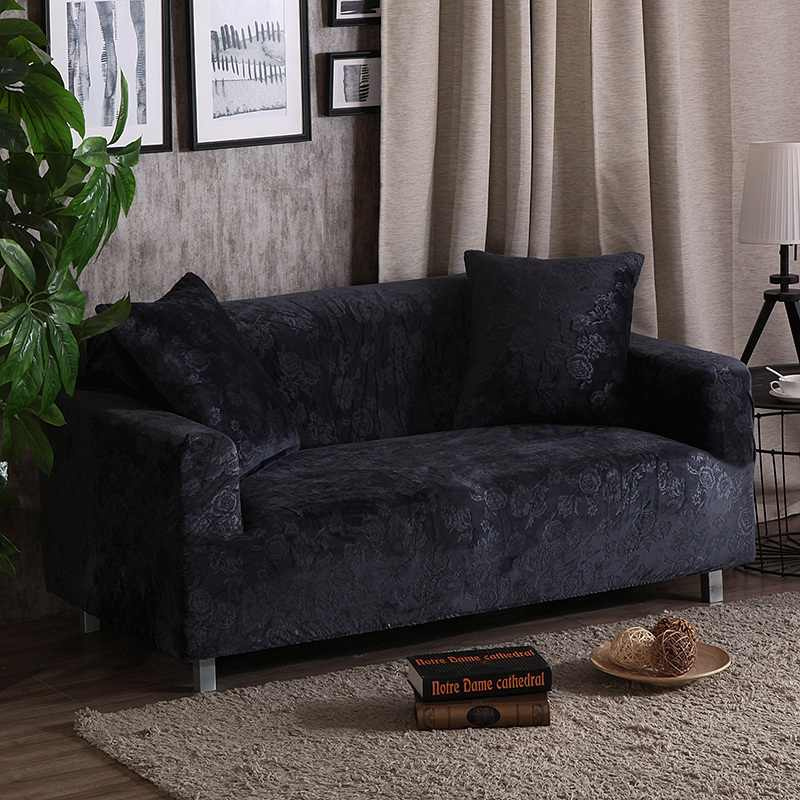 Europe Plush Embossed Sofa Cover All