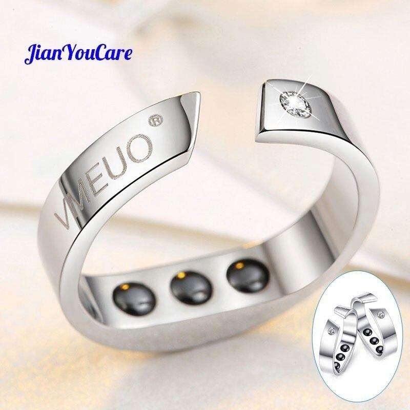 Anti ronquido anillo magnético terapia de acupresión tratamiento contra ronquido dispositivo tapón anillo de dedo ayuda para dormir ayuda
