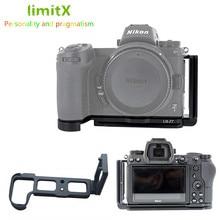 Quick Release L Plate Bracket Holder Hand Grip voor Nikon Z6 voor Nikon Z7 Digitale Camera voor Arca Swiss Statief hoofd