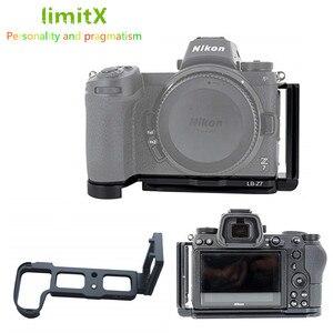 Image 1 - الإفراج السريع ل لوحة قوس حامل قبضة اليد for Z6 Nikon Z7 كاميرا رقمية ل Arca السويسري ترايبود رئيس
