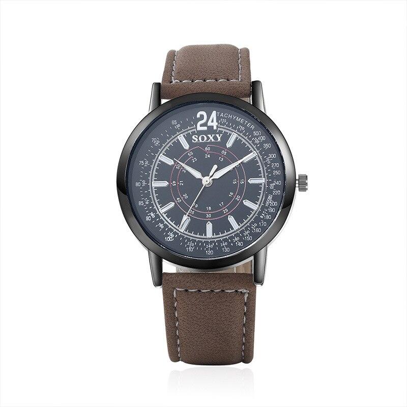 populaire herenhorloge creatieve quartz uurwerk horloge van hoge - Herenhorloges - Foto 3