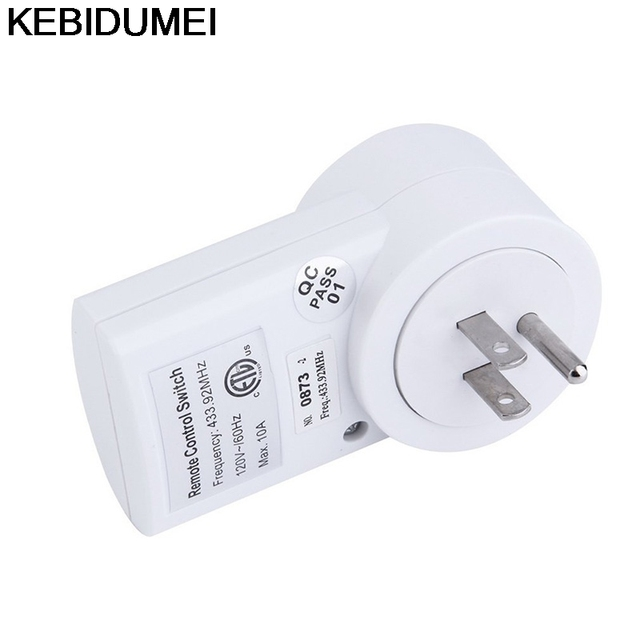 Sockets Wireless Home House Power Outlet Light Switch Socket Remote ...