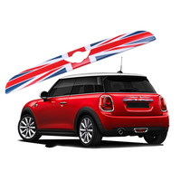 Car Rear Trunk Trim Lid Cover Tail Tailgate Door Handle Strip Molding Trim For MINI COOPER F55 F56 Exterior Styling Accessories