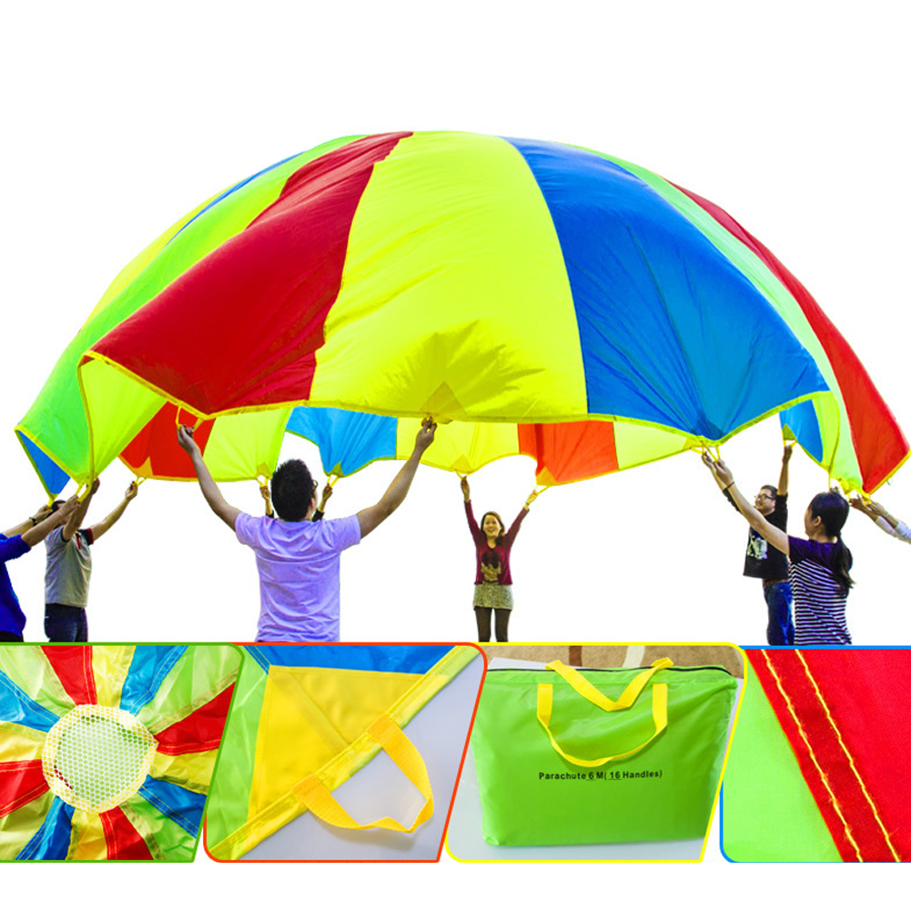Dia-3M-Kid-Outdoor-Sports-Toy-Rainbow-Umbrella-Parachute-Toys-for-Children-Kids-Cooperation-Relations-Developing-Training-Toys-3