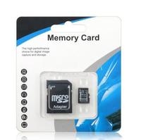 computer cell phone Best qualityretail package Real capacity for memory card 4GB~256GB micro TF card TF card for cell phone computer with adapter (2)