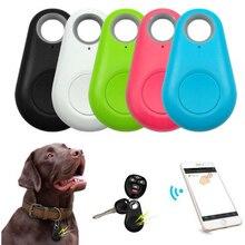 """Pet умные gps трекер мини функция """"антипотеря Водонепроницаемый локатор Bluetooth Tracer для домашних животных собак и кошек, с рисунком машинки, кошелек для ключей воротник аксессуары"""