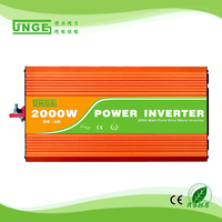 2KW/2000W 12/24/48V to 100/110/120/220/230/240VAC 50/60Hz residential home high frequency use pure sine wave off grid inverter