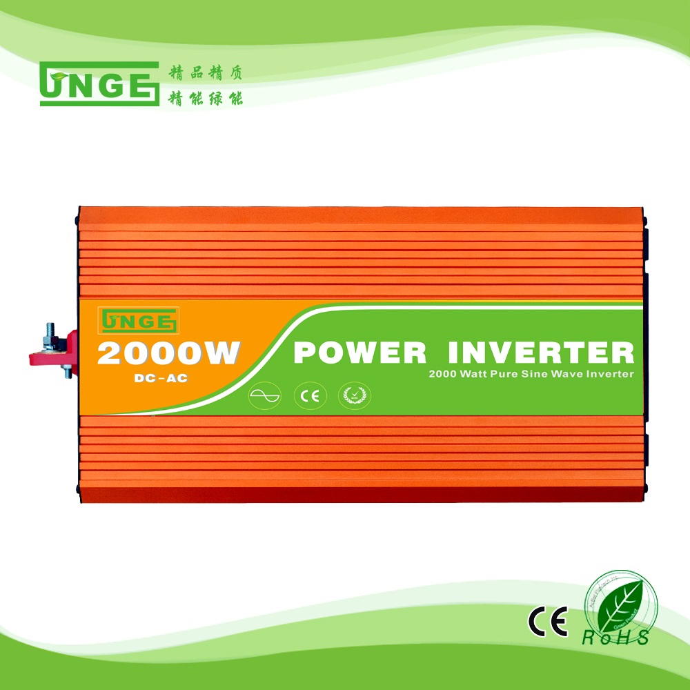 цена на 2KW/2000W 12/24/48V to 100/110/120/220/230/240VAC 50/60Hz residential home high frequency use pure sine wave off grid inverter
