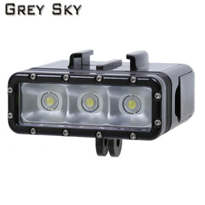Image 2 - Go Pro nurkowanie latarka lampa LED lampa błyskowa wideo dla GoPro Hero 5 4/3 +,SJCAM SJ4000 sj 4000 Xiaomi Yi 4k 2 akcesoria do kamer