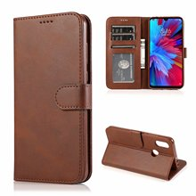 For Xiaomi redmi 7 Case Flip Leather Cases Stand PU With Card Holder