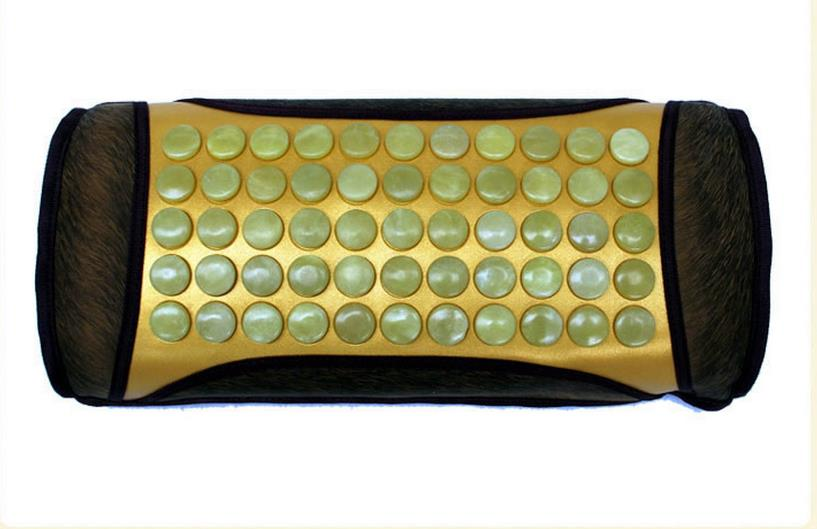 Heating care jade pillow ochre ms tomalin magnetic therapy health care pillow pillow topaz beans heating cervical pillow