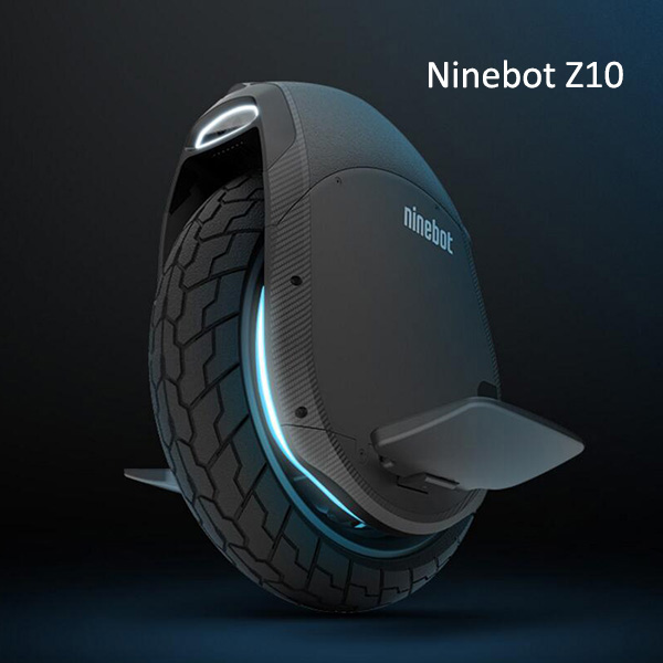 2019 Newest NINEBOT ONE Z10 electric unicycle wide wheel 1800W motor maximum speed 45km/h, battery 1000WH, Bluetooth, smart APP