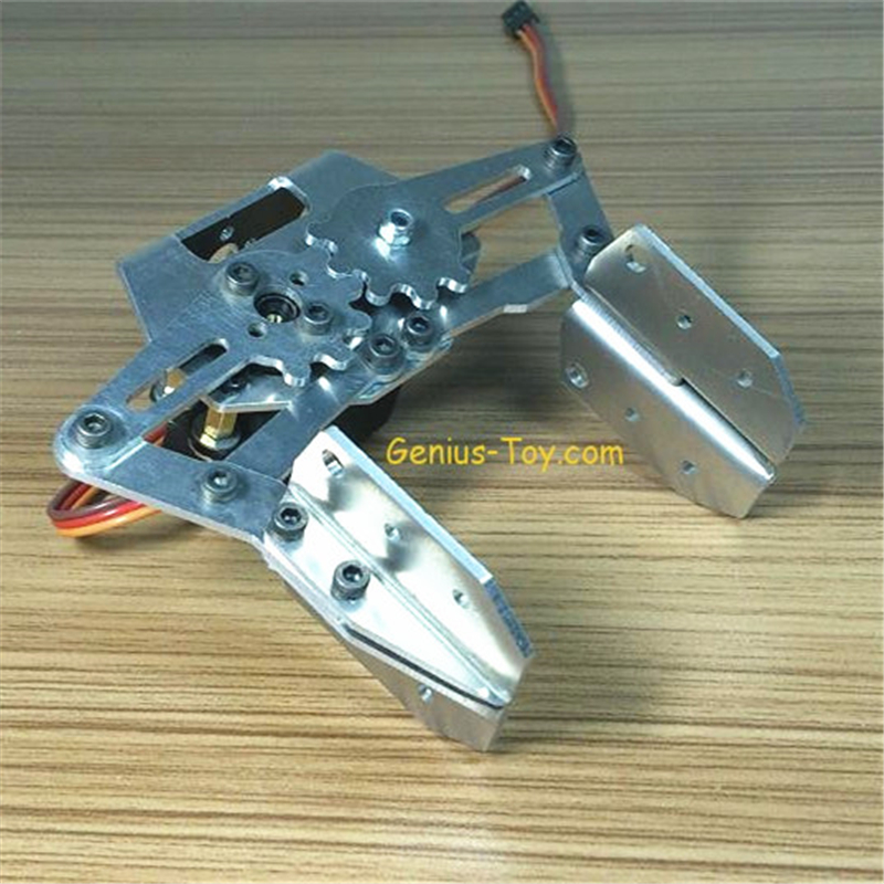 Manipulator Robot Gripper Robot Manipulator Metal Gripper Claw symmetric grasping large clamp mechanical robot claw manipulator gripper metal aluminum hand grips paw w ldx 335mg servo