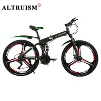 Altruism X9 Pro Mountain Bike 21 Speed Bicycle Steel Downhill 26 Inch Bicycles Floding Bikes Fiets