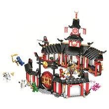 BELA Ninjagoed Legacy Monastery of Spinjitzu Building Blocks Kit Bricks Classic Movie Ninja Model Kids Toys Compatible Legoings