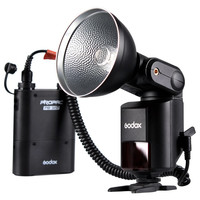 Godox Witstro AD360 AD 360 Powerful Portable Speedlite Pro outdoor Flash Light + PB960 Power Battery Pack Kit Black Studio flash