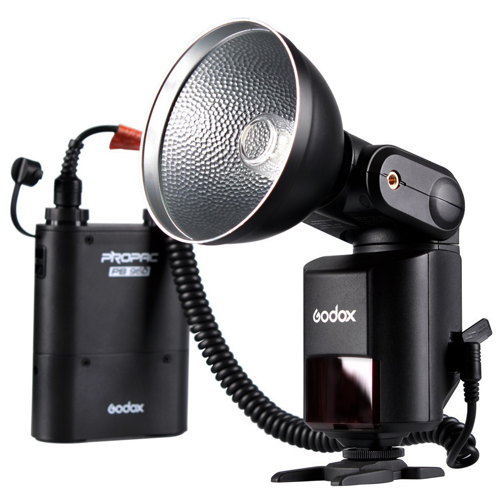 Godox Witstro AD360 AD-360 Powerful Portable Speedlite Pro outdoor Flash Light + PB960 Power Battery Pack Kit Black Studio flash free tax to russia new 42cm godox ad s3 beauty dish with grid for witstro speedlite flash ad180 ad360