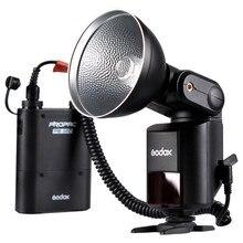 Godox Witstro AD360 AD-360 Puissant Portable Speedlite Pro extérieure Flash Light + PB960 Power Batterie Pack Kit Noir Studio flash