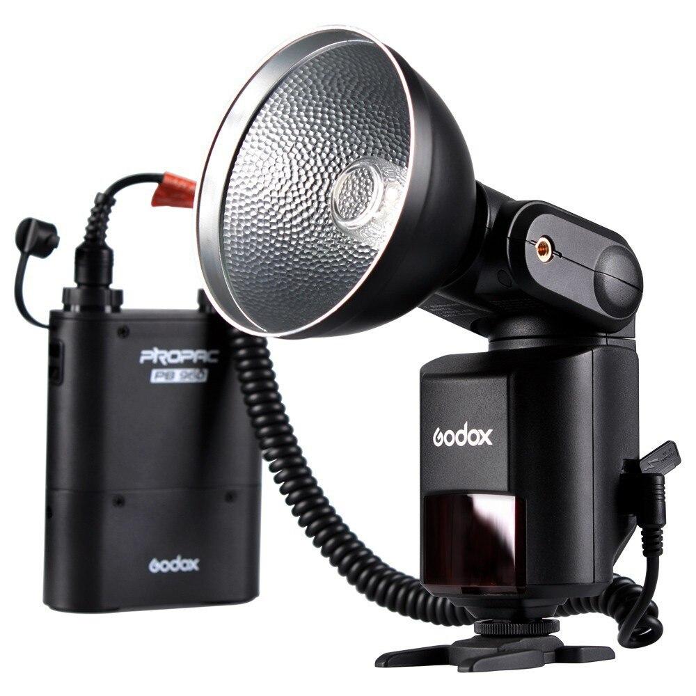 Godox Witstro AD360 AD 360 puissant Flash extérieur Portable Speedlite Pro + Kit de batterie d'alimentation PB960 noir flash de Studio-in Clignote from Electronique    1
