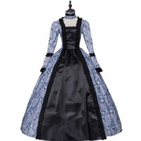 New Rococo Gothic Victorian Dress Marie Antoinette Period Gown Queen Renaissance Performance Clothing Party Ball Gown