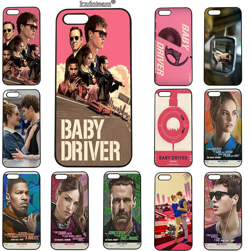 Baby Driver Ansel Elgort Mobile Phone Case for iphone 8 7 6 6S Plus X 5S 5C 5 SE 4 4S iPod Touch 5 6 Shell Hard PC Plastic Cover