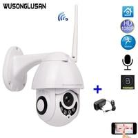 IP Camera Wifi 1080P 2MP Mini Speed Dome Smart Remote Control PTZ Onvif SD Card Max128G IR Distance 25M For CCTV Security Camera