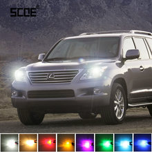 Voor Lexus LX 570 RX 350 RX 3 450H SC 430 SCOE 2 x Super Heldere Voor Parking Front side Marker Light Bulb Lamp Auto Styling(China)