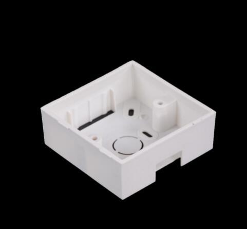 Bottom Box Outlet 86mm Back White Wall Box Plastic Flame Retardant Materia Universal Mounting  Socket/exit Button,min:1pcs