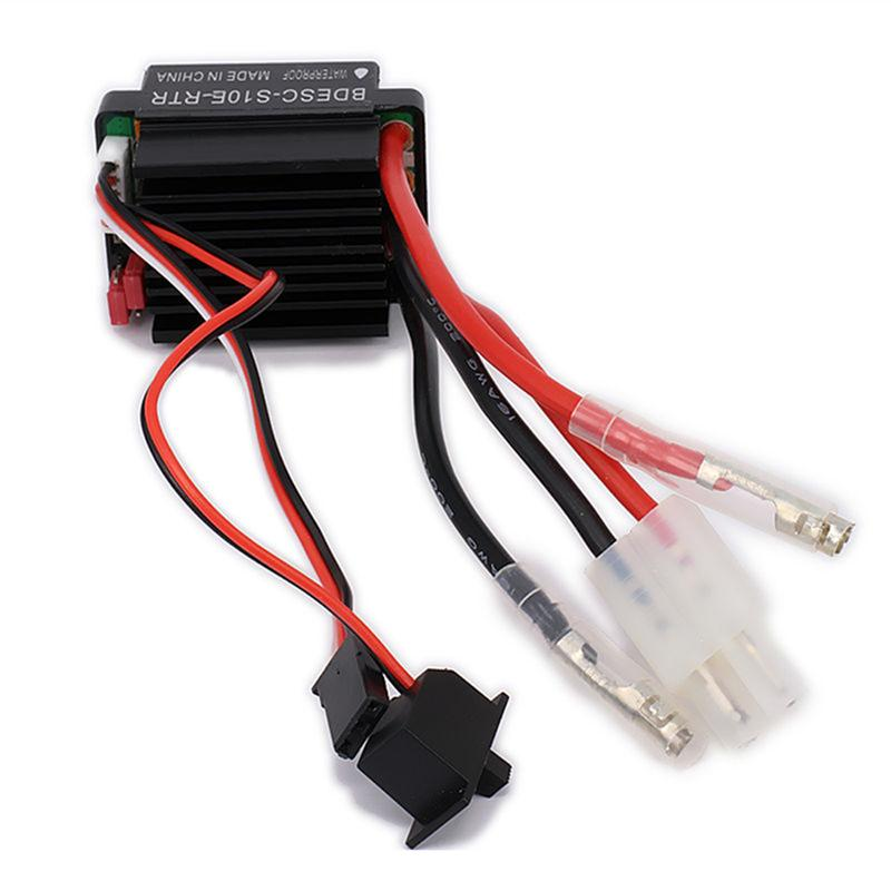 320A Brushed Electric Speed Sensor Controller Combo for RC Car and Boat