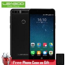 Leagoo Kiicaa Puissance 5.0 Pouce 2 GB RAM 16 GB Quad Core double Caméra Mobile Téléphone Double Cartes SIM Android 7.0 D'empreintes Digitales Smartphone