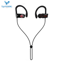 LYMOC Wireless Bluetooth Headsets Sport Running Headphones Hi Fi 3D Stereo Sound CSR4 1 Noise Isolution
