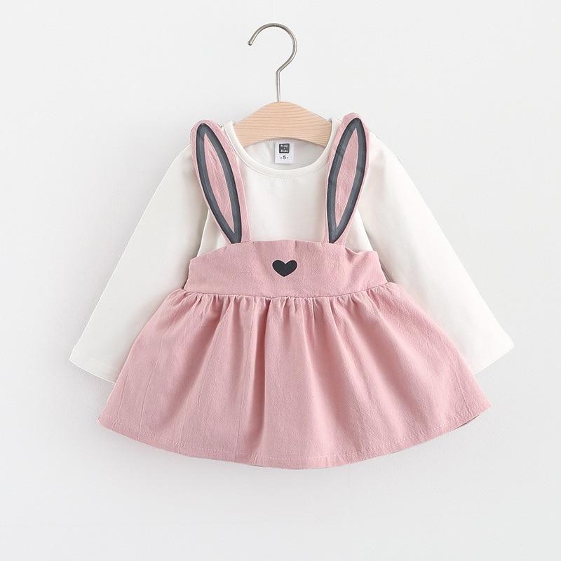 VIASA Baby Girls Long Sleeve Lace Princess Toddler Sundress Formal Dress Outfits Kids Cute Lace A-Line Dress
