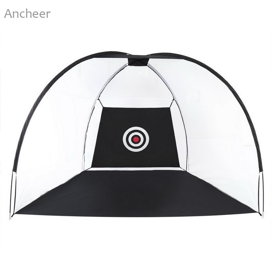 Ancheer Portable Golf Net with Chipping Target and Carry Bag Large Size Outdoor Train Equipment