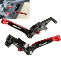 Motorcycle Adjustable Foldable Extendable handles handbrake Scooter brake Clutch lever For Yamaha X MAX 300 XMAX300 2017 2018
