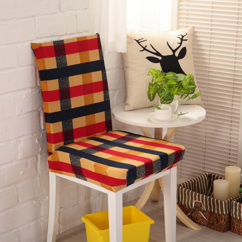 Dining Room Decoration Chair Covers For Resterant Hotel Party Jacquard Cashmere Polyester Spandex Fabric Slipcovers In Cover From Home Garden