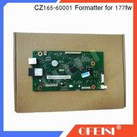 Placa Do Formatador Original PCA placa mãe lógica MainBoard CZ165-60001 Conj para HP Color LaserJet Pro chip de MFP M177 177FW M177FW