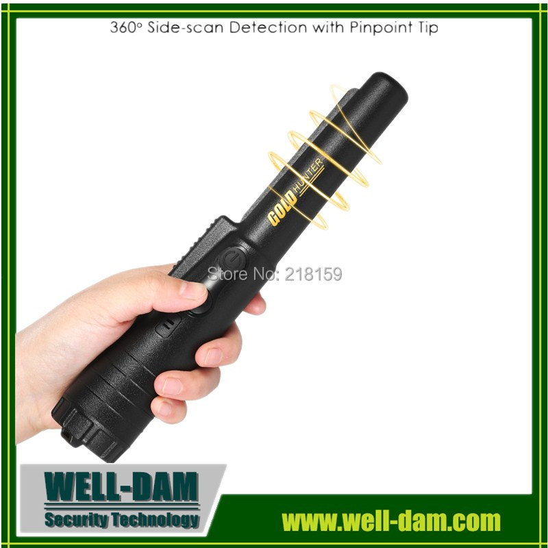 Professional super scanner hand held gold metal detector pro pointer pinpointer with free shipping !