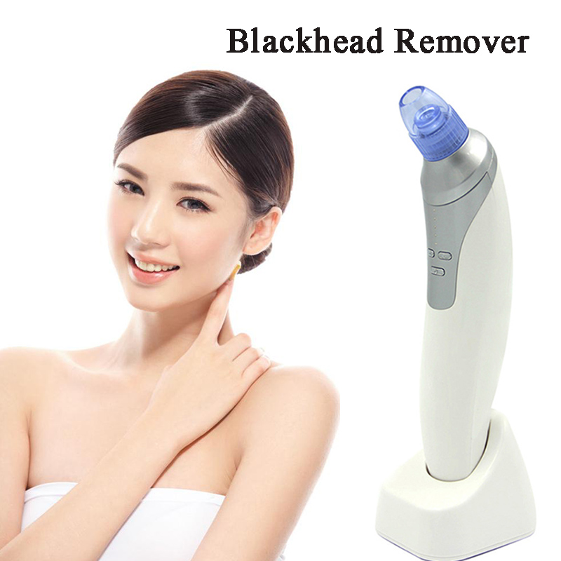 Blackhead Remover Suction Machine Vacuum Comedo Suction Microdermabrasion Diamond Machine Rechargeable Electric Blackhead Remove