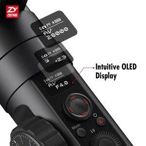 Image 4 - ZHIYUN Crane 2  הרשמי מנוף 2 3 ציר Gimbal מייצב עבור כל דגמים של DSLR ראי מצלמה Canon 5D2/3/4 עם סרוו בצע פוקוס