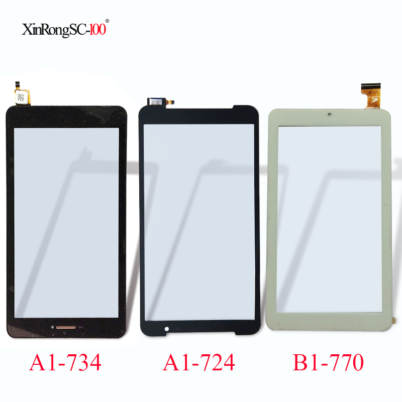 7 For Acer Iconia Talk S A1-734/A1-724 A1-724A/One B1-770 A5007/Talk7 B1-723/One 7 B1-780 Tablet Touch Screen Digitizer panel 5pcs lot high quality 7 9 for acer iconia a1 830 a1 830 25601g01nsw touch screen sensor tablet digitizer panel front glass lens