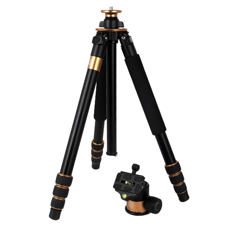 QZSD Q1000 Stable Professional Tripod for DSLR Camera Portable Camera Stand Photography Tripod with 45mm Ball Head 28mm Max.Tube qzsd q668 portable camera tripod with ball head