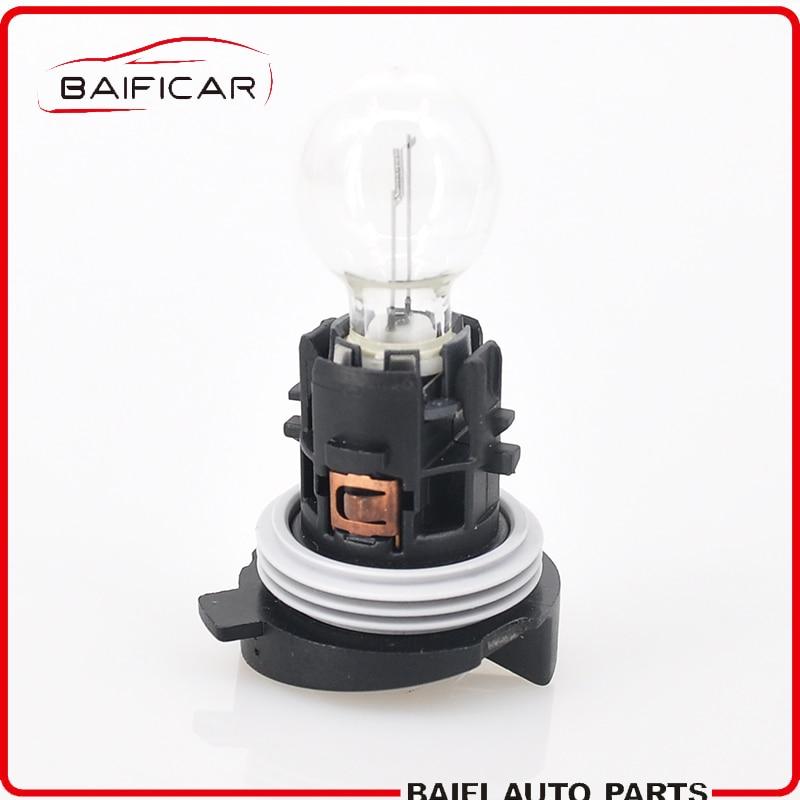 Baificar Brand Genuien 1 Pcs Daytime Running Light Bulb With Base 6216F6 89072904 HP24W For Peugeot 3008 5008 Citroen C5