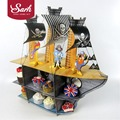 Delicate Original Pirate Ship Cartoon Cake Rack Cake Party Birthday Party Cake Decorations Lovely Gifts