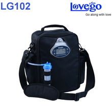 4 hours battery time Newest Lovego portable oxygen concentrator LG102 with two batteries