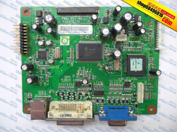 ФОТО Free Shipping>L2045w logic board PWB-1027-03PWB-1027-03 E053110270 driver board-Original 100% Tested Working