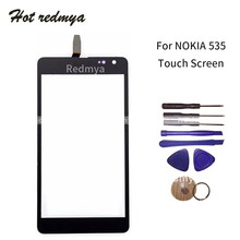 """Get more info on the 5.0"""" For Nokia Microsoft Lumia 535 N535 CT2S1973 CT2C1607 Touch Screen Front Panel Digitizer Sensor Outer Glass Lens With Tool"""