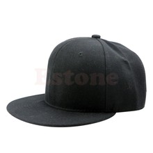 Пустой Равнине Snapback Шляпы Унисекс мужские Хип-Хоп Регулируемая Би-бой Бейсболка