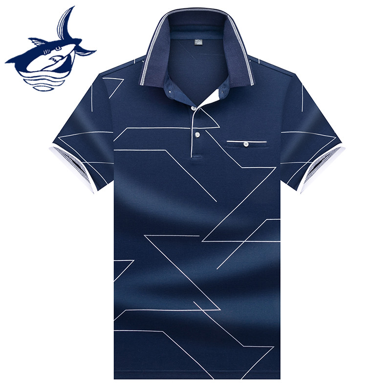 Hot Sale 2019 New Fashion Design   Polo   Shirt Men Short Sleeve Tace & Shark men   polos   shirts casual camisa masculina   polo   shirt