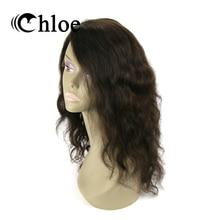 Chloe Natural Wave 100% Human Hair Wigs Brazilian Virgin Hair Lace Frontal Wigs Density 130% Free Tangle And No Shedding.