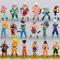 6 pçs/lote Dragon Ball Z Action Figure Coleção de Brinquedos Anime Boneca Figura De Ação Bola Dragão